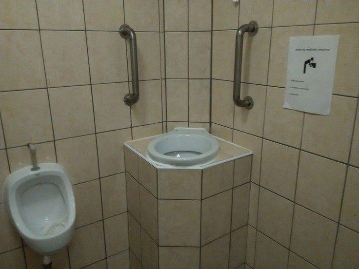 vomit toilet in a czech club...