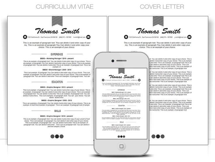 Best Cv Word Templates Images On   Resume Templates