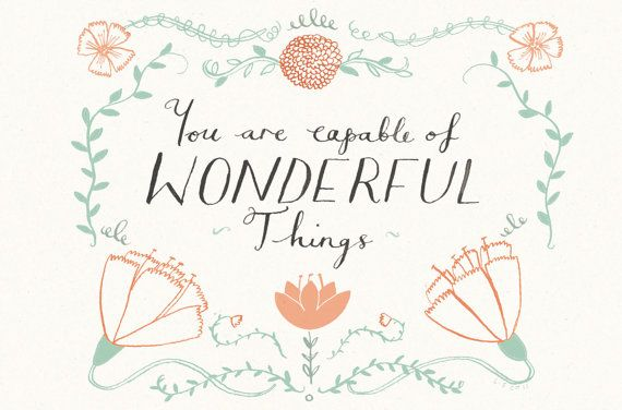 you are capable of wonderful things by lizzy stewart