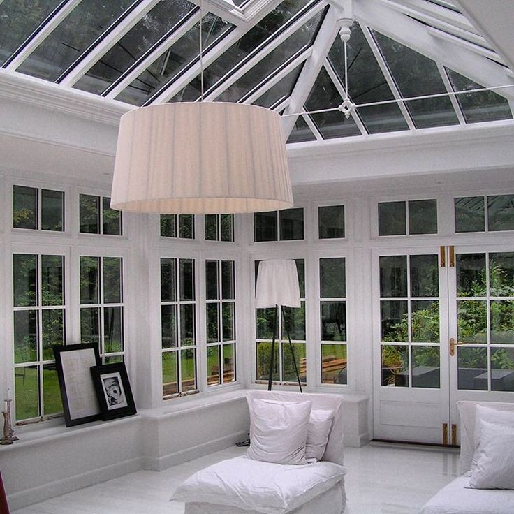 Enjoy your garden all year inside a great english  hardwood orangery from classicalorangeries.com #tageandersen #orangeri #orangeries #orangeri #conservatories #udestuer #udestue #glasshouse #glasshouses #havenyt