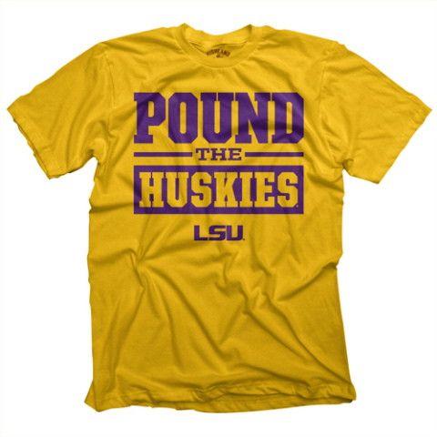 LSU vs Huskies Game Day Tee