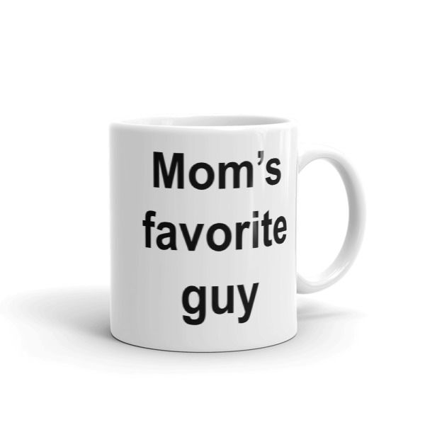Mom's favorite guy Mug //FREE Shipping //     #quotes