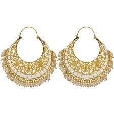 #indian #earrings #chaand