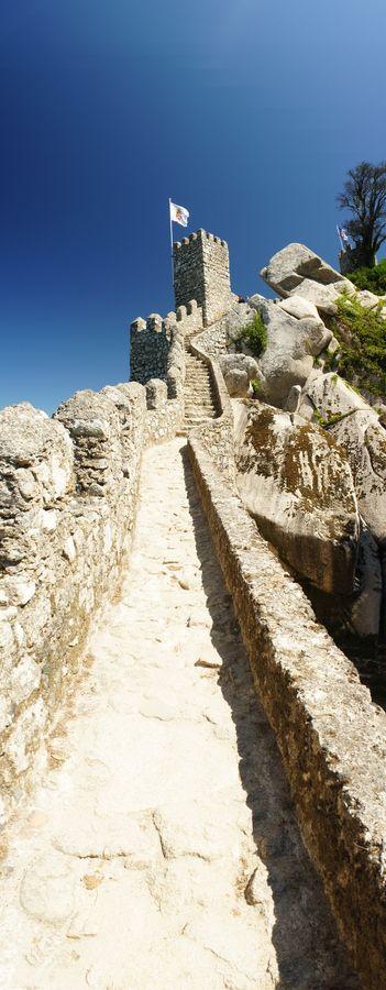 "#Castel of the Moors"", Sintra, Portugal by Hilthart Pedersen #PORTUGALmilenar"