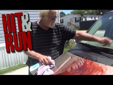 Angry Grandpa - The Hit & Run PRANK!  So funny