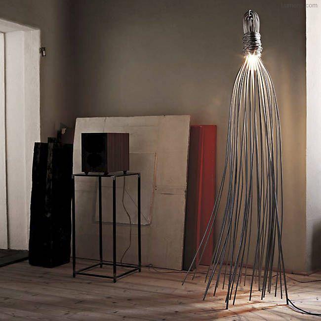 Hugo Floor Lamp By Terzani At Lumens Com Floor Lamp Design Floor Lamp Lamp