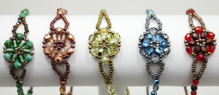 Deb Roberti's FREE Hana-Ami Bracelets Pattern