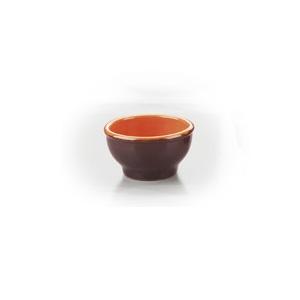 Cupa din ceramica din colectia Coccio ~ Distribuie caldura in mod uniform in tot preparatul, de aceea se poate folosi pe plite electrice, plite ceramice, plite cu gaz, in cuptor, in cuptorul cu microunde. Se poate spala in masina de spalat vase