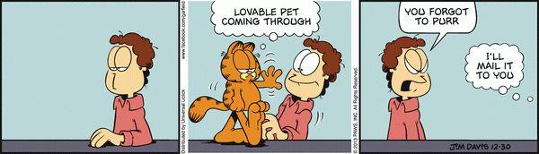 Garfield for 12/30/2013