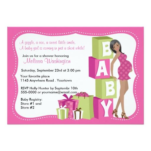 419 best Woman Baby Shower Invitations images on Pinterest - email baby shower invitation templates