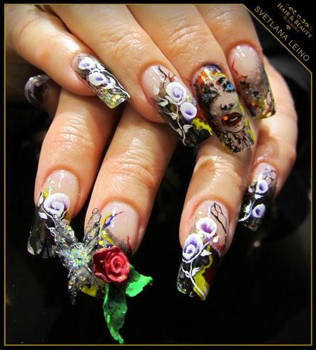 It's a Carnival by Blackout - Nail Art Gallery