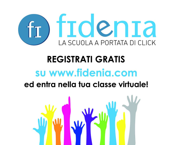 Registrati gratis su #Fidenia: scoprirai i vantaggi della #scuola #digitale!