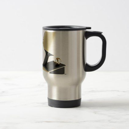 #Table tennis trophy travel mug - #office #gifts #giftideas #business