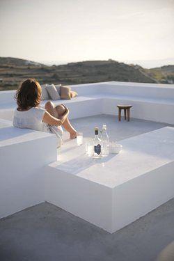 Grecia - www.Lemiro.it Pavimento in cemento, mobili terrazzo esterno ...