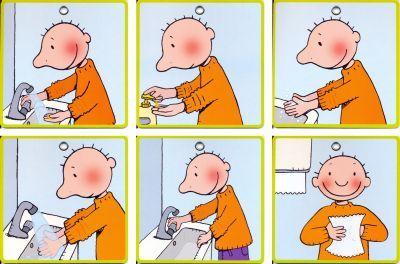 handen wassen stappenplan - Google zoeken