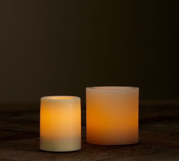 Flameless wax votive candles s 4 or s 6 by candle for Homemade votive candles