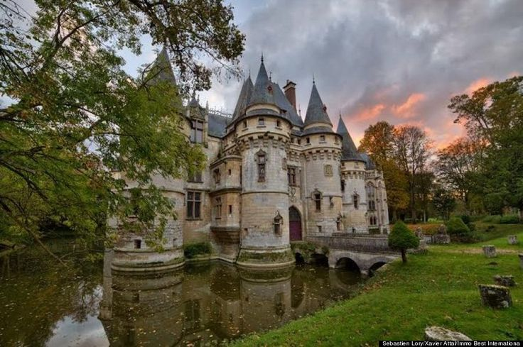 This castle is on sale for only 6 million, I don't have 6 million, but still, that is not so much for your own real life Disney castle.