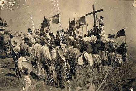Cristeros. The Cristero War (1926‒1929), also known as La Cristiada, was an attempted counter-revolution against the anti-clericalism of the ruling Mexican government