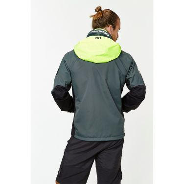 HP LAKE JACKET Developed for use with power boats, this sporty marine jacket will keep you warm and dry while you cross the water by engine.Double click to zoom in
