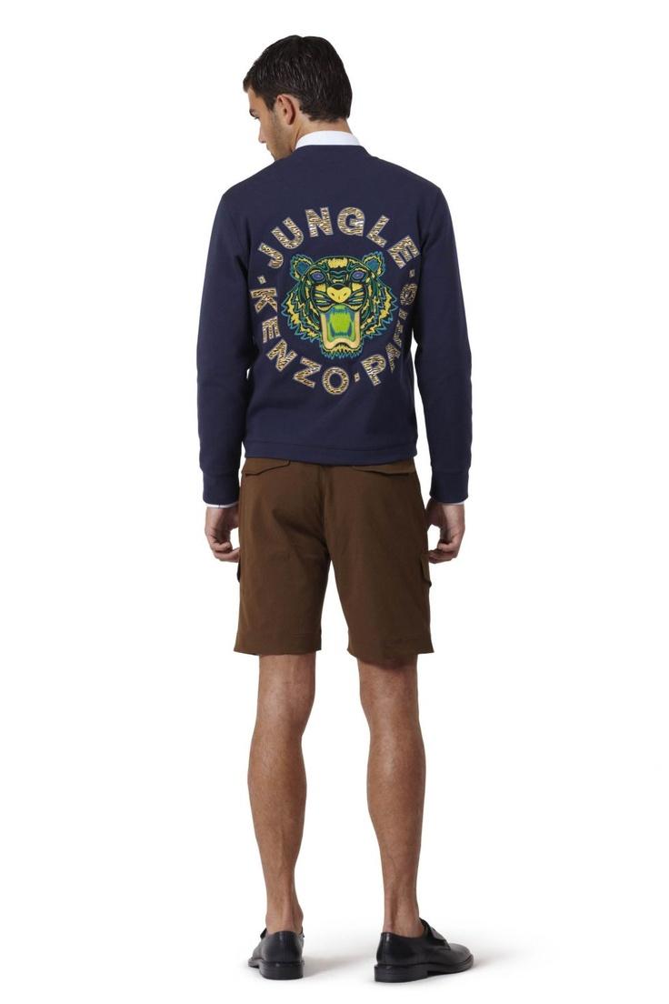 Kenzo Men's Tiger zip up sweatshirt at Kenzo eshop (UE Delivery)