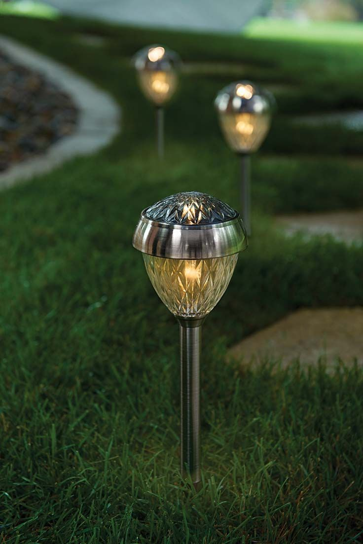 better homes and gardens lighting. better homes and gardens park view solarpowered landscape light antique pewter finish lighting m