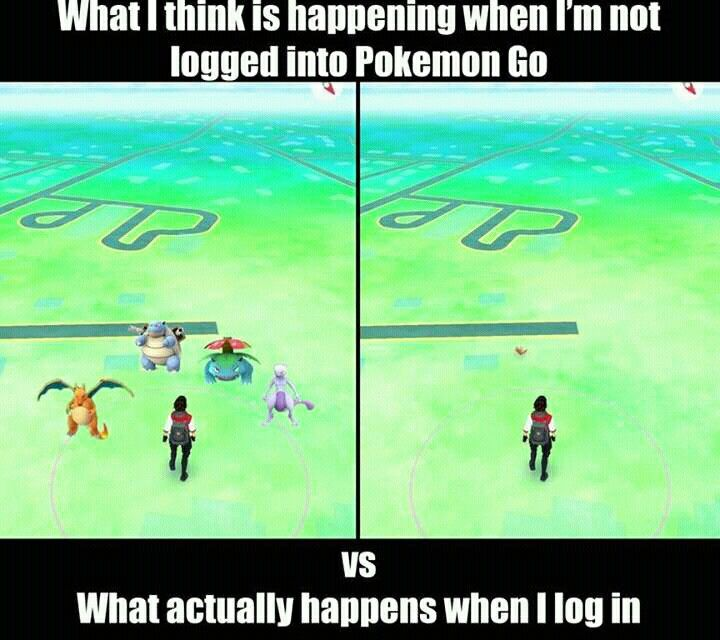 true #pokemon go #meme