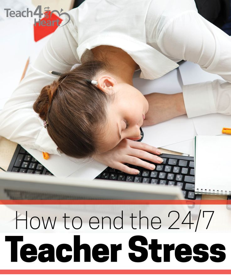 Tired of the 24/7 teacher stress? Teaching doesn't have to be like this...