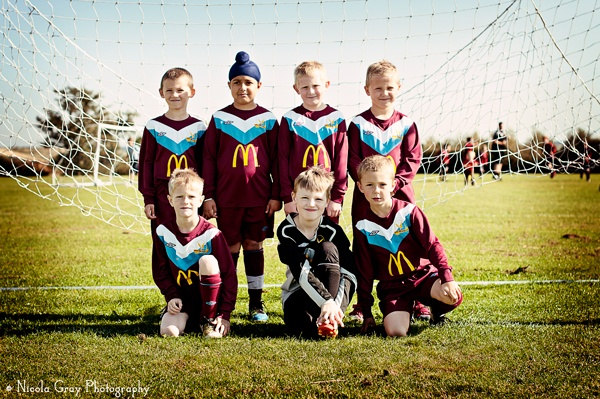 Footy Fun. Arnold Town Football Club U 8