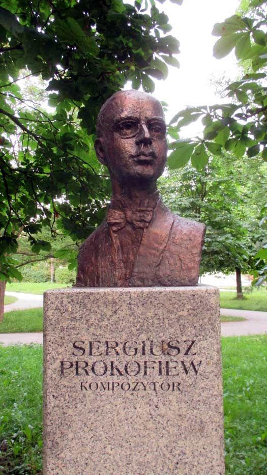 Sergei Prokofiev. Kielce, Poland. © Adam Zulawski