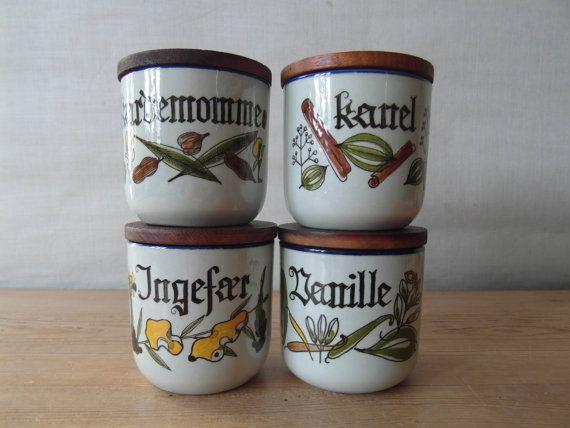 Knabstrup Denmark  PERNILLE   one spice jar