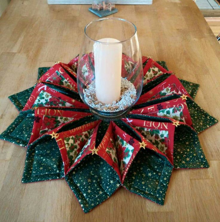 17 Best Images About Fold And Stitch Wreath PoorHouse