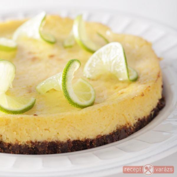 Könnyű zöldcitromos sütemény