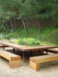 A gardeners table
