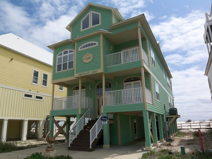 Endurance Beach House Gulf Shores Part - 38: Pelicans Rest- West Beach 7 Bedrooms Shared Pool