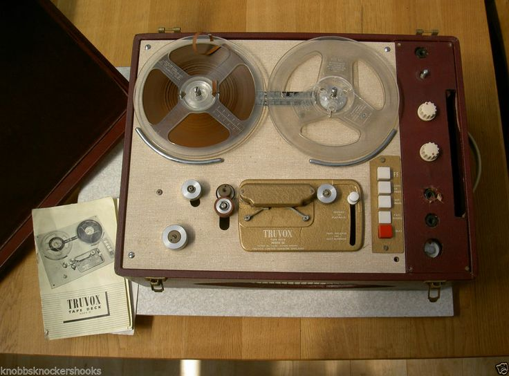 Truvox Reel to Reel Mark 111 1950's | Vintage Recording ...