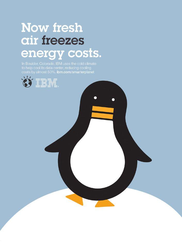 "IBM's ""Smarter Planet"" print campaign was designed by Ogilvy"