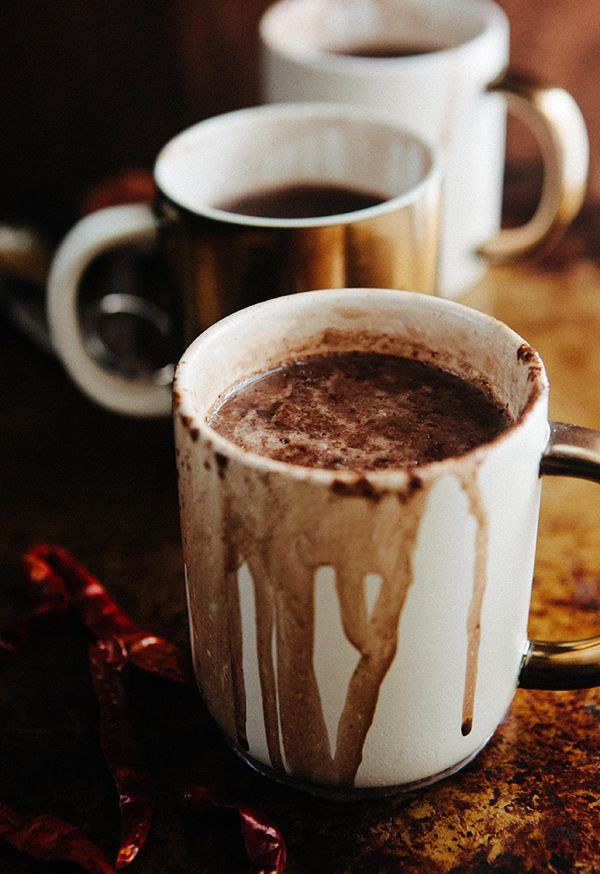 New Mexican Hot Chocolate*** authentic with spices and cream