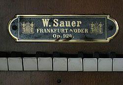 Orgelwerkstatt Scheffler - Firmenprofil