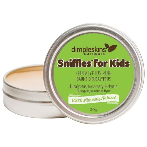 Dimpleskins Naturals Sniffles for Kids Cold Relief - Eucalyptus 							 							 							- Online Only