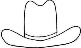 cowboy hat template - Scholastic