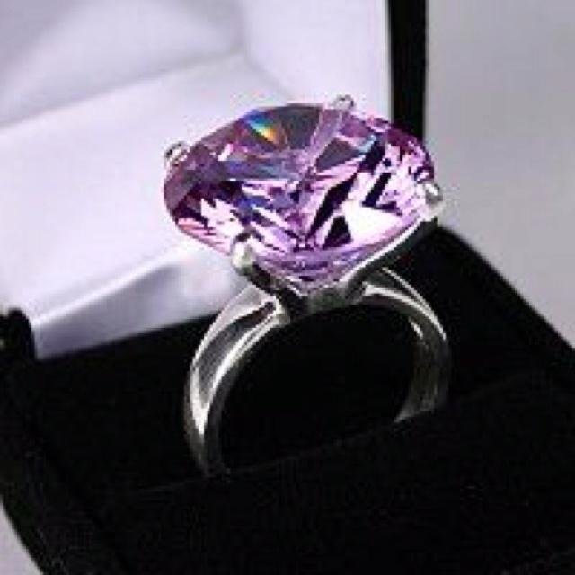 Purple Diamond Ring Kobe Bryant