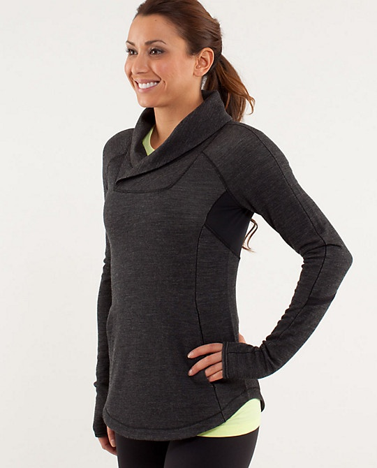 Pitter Patter Pullover by lululemon (wish their stuff was not so expensive)