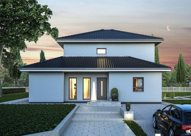 die besten 25 haus mit garage ideen auf pinterest garagenwohnungen dachterrasse und. Black Bedroom Furniture Sets. Home Design Ideas