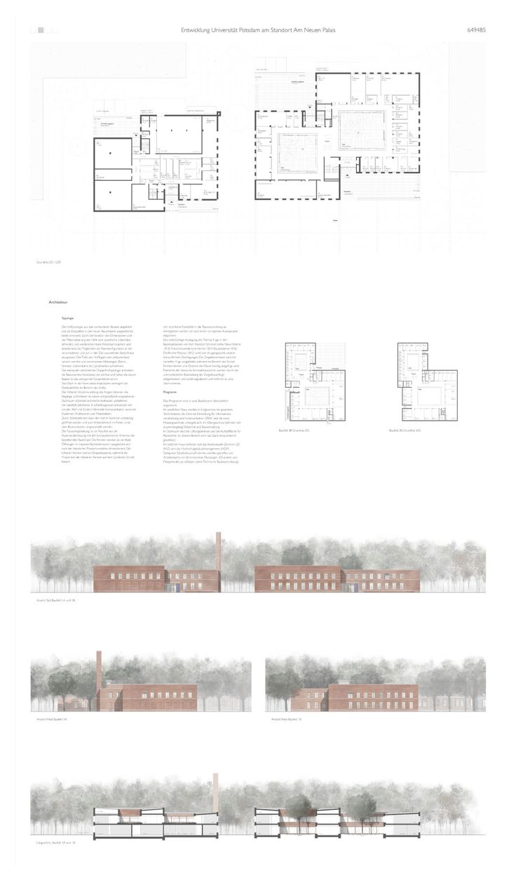 Architekten Potsdam 1 preis bruno fioretti marquez architekten 927 biz layouts architecture and