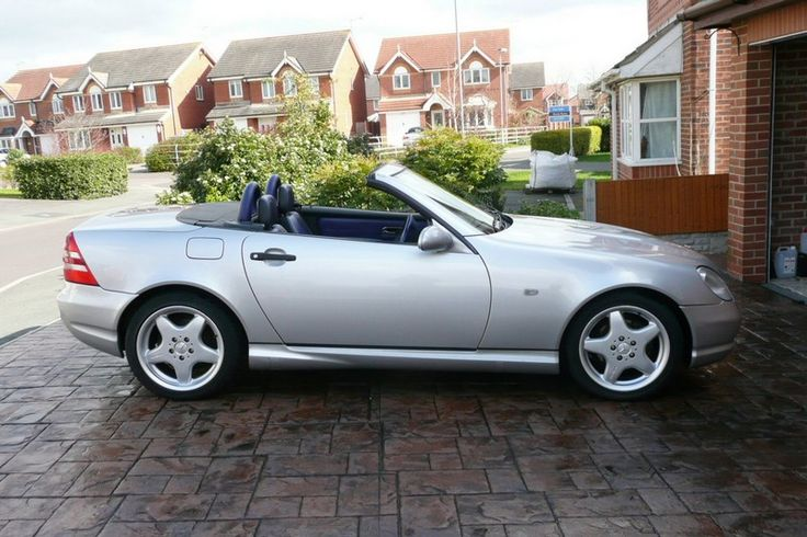 MERCEDES SLK 230 , DESIGNO BLUE INTERIOR, FULL AMG KIT