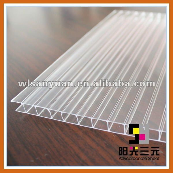polycarbonate sun panel;transparent corrugated roofing sheet $1.5~$4