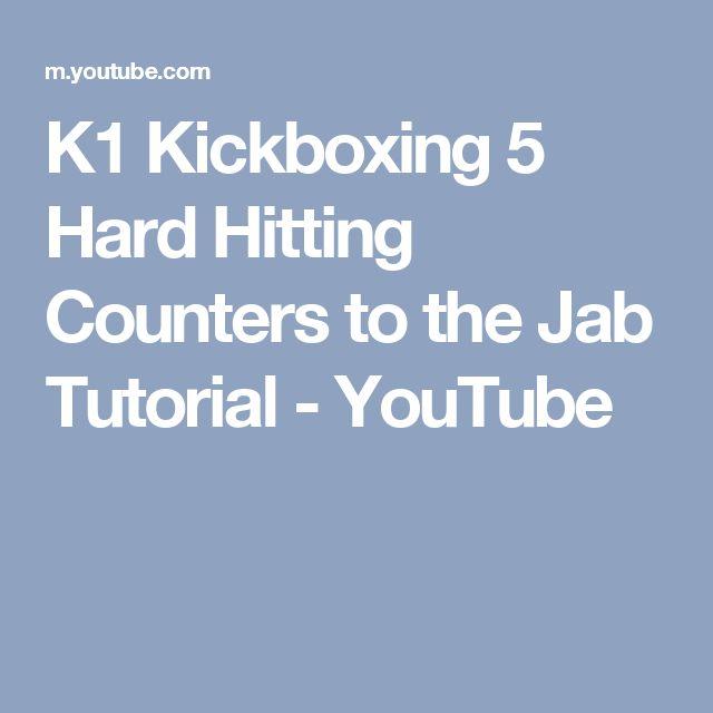 K1 Kickboxing 5 Hard Hitting Counters to the Jab Tutorial - YouTube