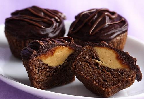 Choco Flan Cupcakes ♥