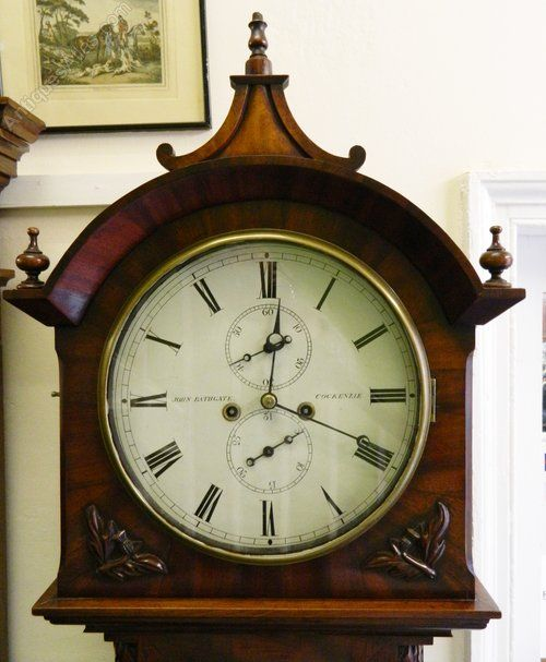 Antiques Atlas   Mahogany 8 Day Longcase Clock. 79 best Edinburgh Scottish Antiques images on Pinterest