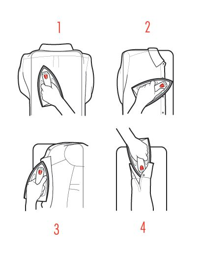 How to Iron Your Shirt in Four Quick Steps